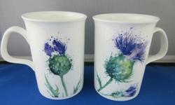 Thistle Mugs Set of Three