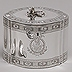 1790 Silver Tea Caddy