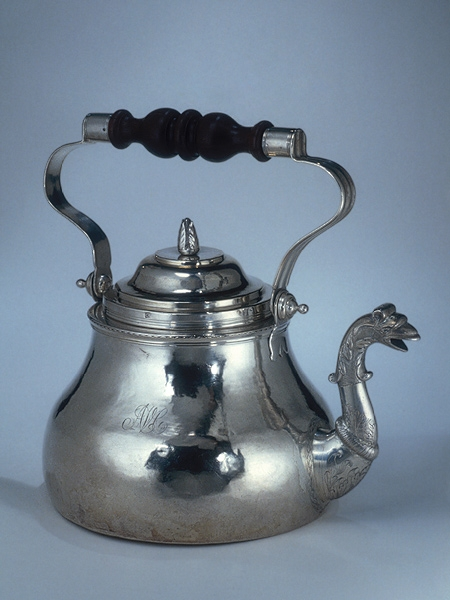 1710 Antique Silver Tea Kettle