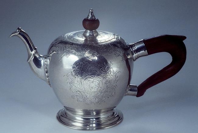 Antique Silver 1745 Teapot