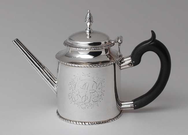 Antique Silver 1782 Teapot
