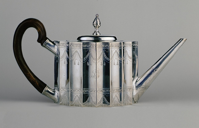 Antique Silver 1796 Teapot