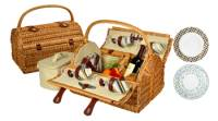 Yorkshire Wicker Picnic Basket