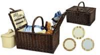 Buckingham Wicker Picnic Basket